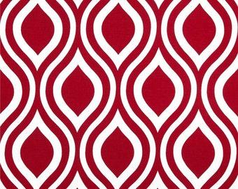 Red Geometric Valance.Red Window valance. Geometric Valance Red . Curtain Valance .Custom Valance. Valence