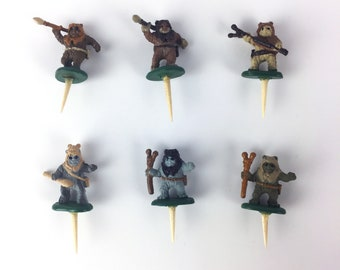 Ewok Star Wars Terrarium Accessory // Figurine // Miniature // With Spike