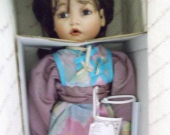 Porcelain Bisque Hand Painted Doll - Jasmine