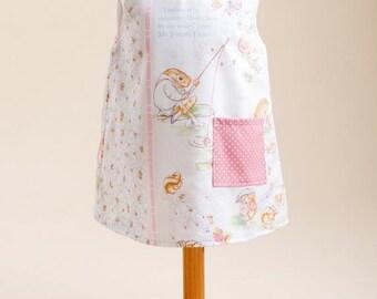 Peter Rabbit Girls Pinafore Dress - Age 1-2 years