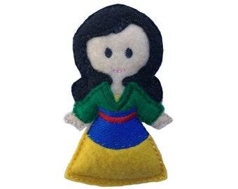 Mulan Princess inspired Catnip Toy