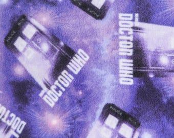 "Doctor Who Fleece Blanket - FREE Personalization - 54""x60"" Custom Adult Throw"