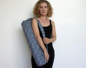 Yoga Mat Bag, Yoga Bag, Yoga Sling, Yoga Carrier,  Gift For Yoga Lover,  Mat Bag,  Sports Bag, Yoga Bag, Yoga Tote