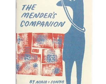 The Mender's Companion: Sewing Zine, How-to Mend Book, Mending