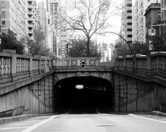 New York Tunnel - Travel Photography