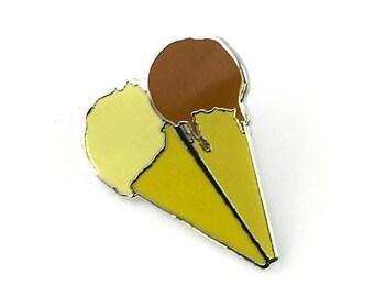Ice Cream Cones Pin