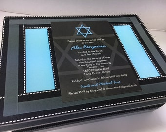 Bar Mitzvah Keepsake Box