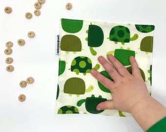 Children Napkins (Cloth Napkins Nature, Casual Napkins, Turtle Gifts, Kids Lunchbox, Two Napkin Set, Preschool Napkins, Reusable Napkins)