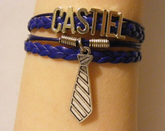 Castiel bracelet, Castiel jewelry, Supernatural bracelet, Supernatural jewelry, SPN bracelet, SPN jewelry, fashion bracelet