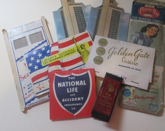 Vintage Advertising Sewing Needle Books Sewing Notions Great Graphics Instant Collection