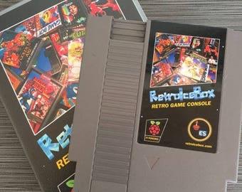 RetroPie RetroIceBox Retro Video Game Console - Plug 'N Play Ready - Includes Everything