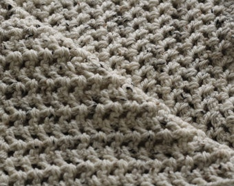 scarf, crocheted narrow