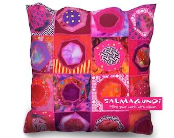 Hopscotch - Hand-made cushion
