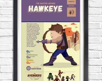 The Avengers - Hawkeye - 19x13 Poster