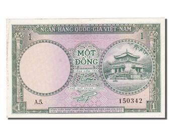 south viet nam 1 d<ox>ng 1956 km #1a unc(65-70) 150342
