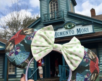 haunted mansion tightrope girl mouse ears