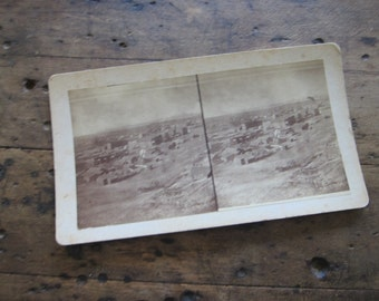 Stereoscope Cards Stereoviews by Charles Emery 1880, Silver Cliff Colorado 3d Photos