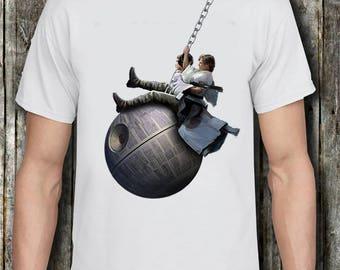 Like a Wrecking Ball Star wars Princess leia and Luke Skywalker Death Star - Miley Cyrus - Wrecking Ball