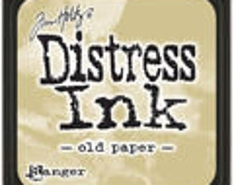"Tim Holtz Distressed Ink ""Old Paper"""