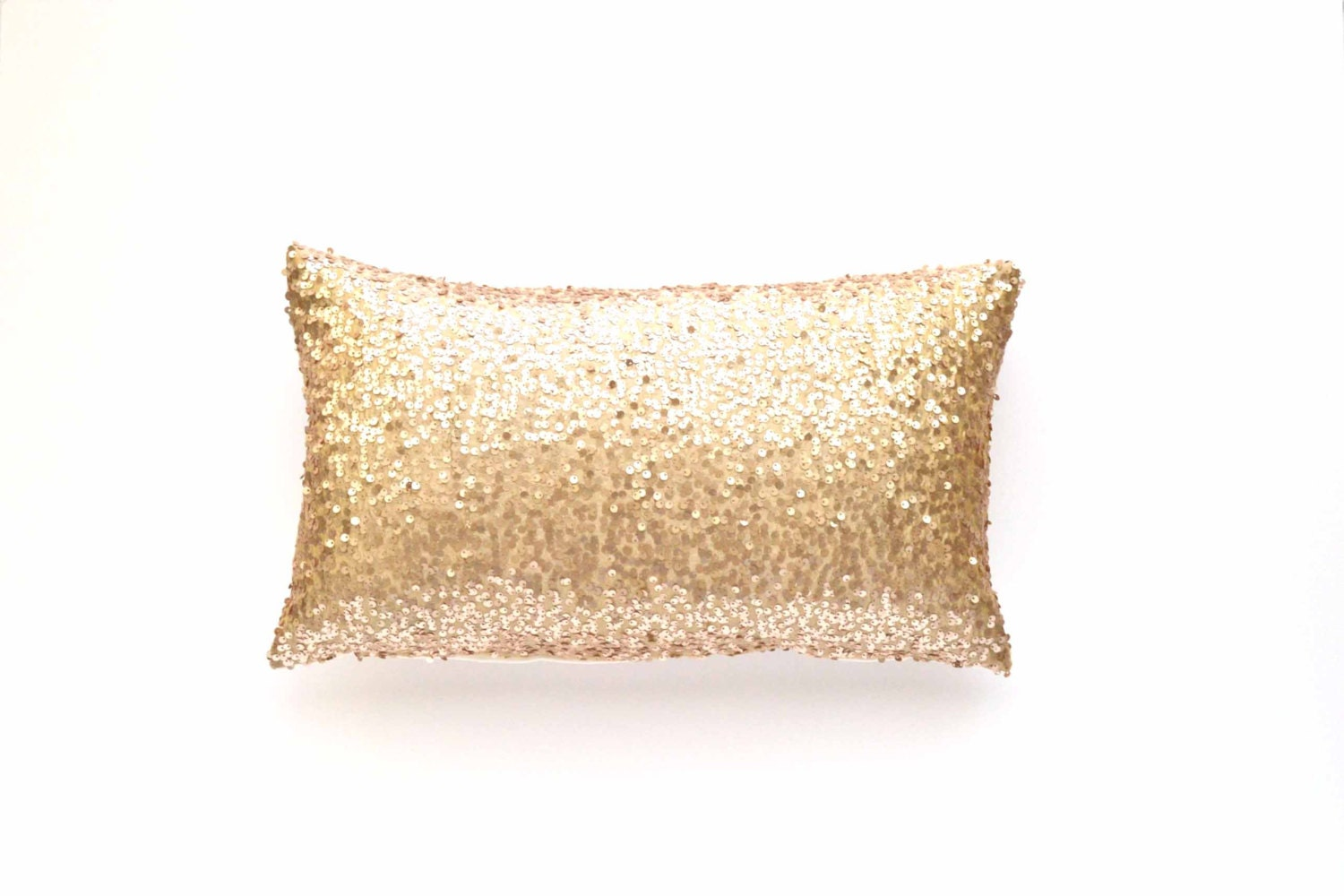 reversible pillow white glam pillows whitegold products gold sequin ivory