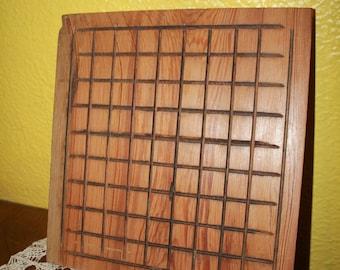 Reclaimed Pine Shogi Board