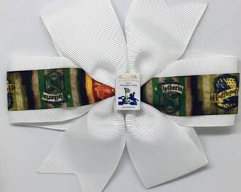 Harry Potter - Large: 12.5cm Pinwheel Hair Bow Clip