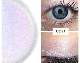 Eyeshadow, Opal, Opalescent Eye Shadow, Mineral Eyeshadow, Mineral Makeup, Vegan, Cruelty Free, Eye Makeup, Iridescent, Duochrome