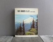 Vintage 1974 101 Hikes in the North Cascades Guide Book / Hiking Trail Guide Book