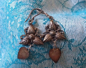 Balinese Silver Jewelry-vintage-earrings-feminine-925 silver