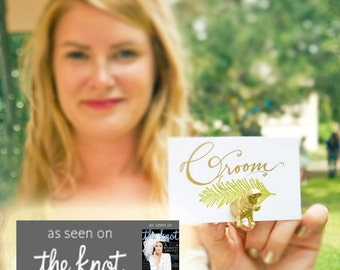 Original Animal Magnet - THE KNOT magazine feature - Choose different animals for escort cards