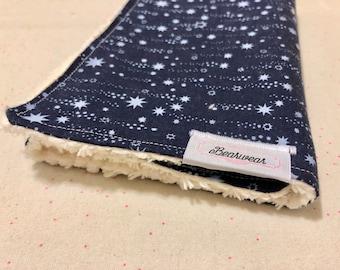 Chenille Burp Cloth