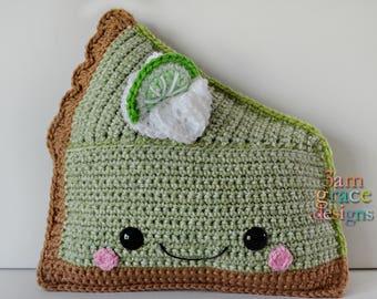 Key Lime Pie Kawaii Cuddler™ Crochet Pattern