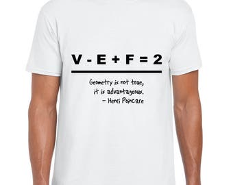 Poincare and a Beautiful Equation tee