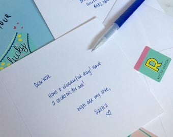 Any Rocks Design Card Handwritten And Sent Directly To Recipient.