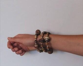 Handmade Wrap Around Bracelet