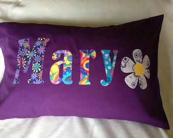Kids personalized pillow case, custom name pillow case, great Gift!!!