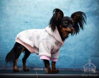 S-M Dog hoodie / Small dog hoodie / Dog shirt / Toy dog hoodie
