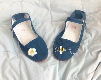 Custom Mary Jane Flats