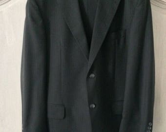 Pinstripe suit in classical style anthracite by Westbury 100% wool