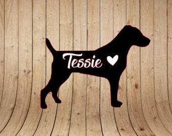 Jack Russell Terrier | Dog | Car Vinyl Decal | Vinyl Decal