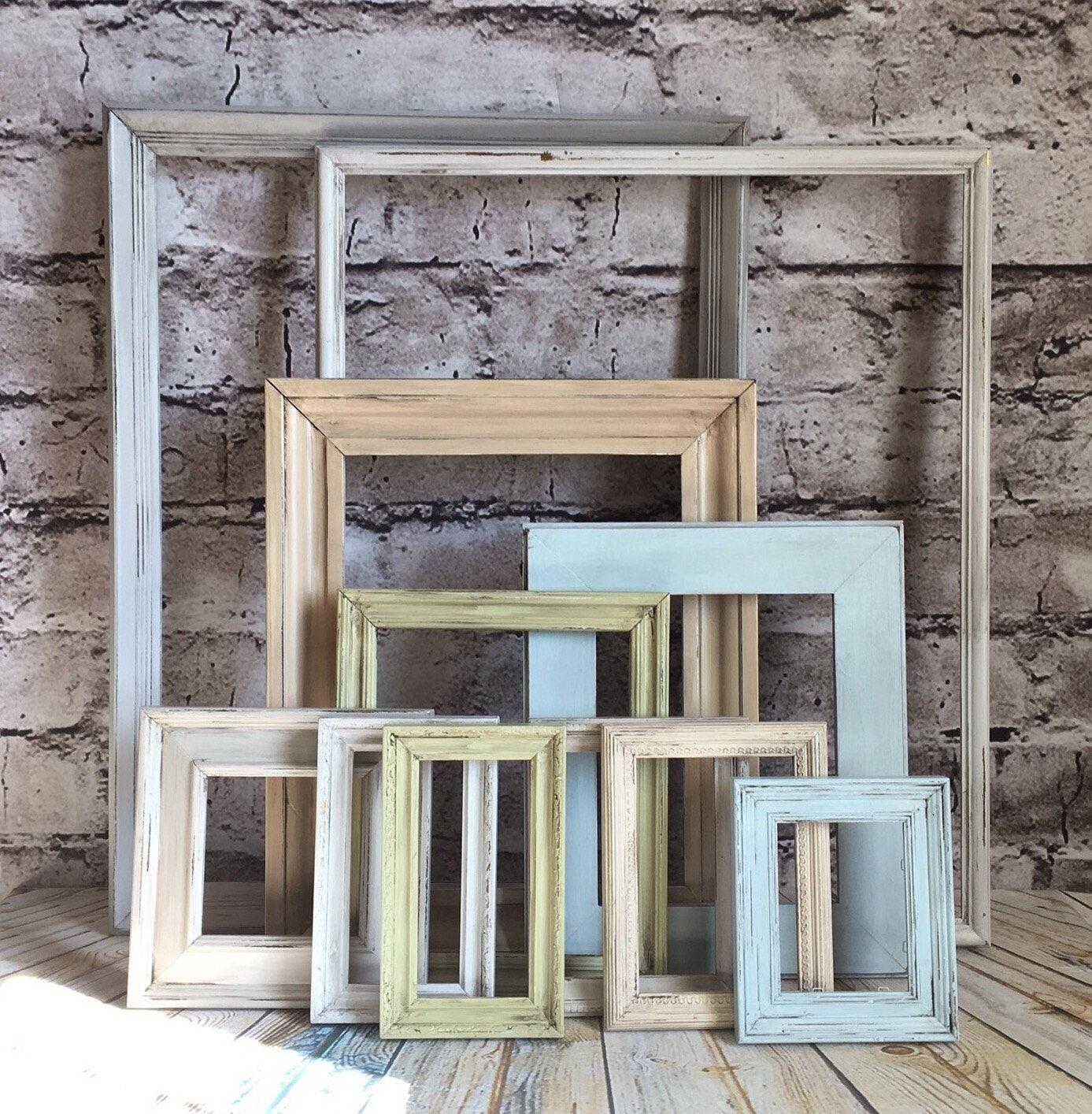 Frames, frame set, farmhouse frames, farmhouse colors, gallery ...