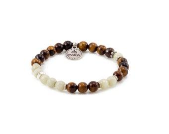 Mallah Bracelet, Tiger Eye Bracelet, Womens Bracelet, Boho Jewelry, Gift For Her, Tassel Bracelet, Beaded Bracelet, Layers Bracelet