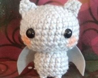 Baby Bat Amigurumi Fat head Doll - Plushies - Bats About You