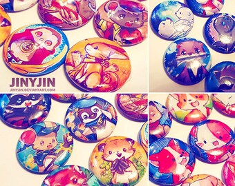 Animial button collection (20)