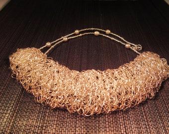 Boho Sterling Silver Unique Necklace