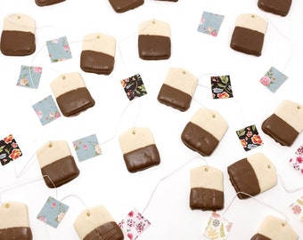 Tea Bag sugar cookies - 1 dozen