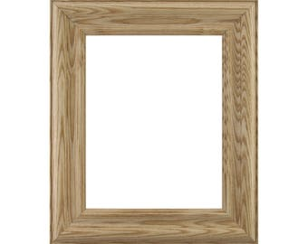 """Craig Frames, 24x36 Inch Raw Wood Picture Frame, Wiltshire N, 2"""" Wide (801630002436)"""
