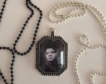 Ida B. Wells pendant necklace