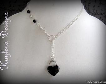 Discreet Slave Day Collar,, Locking Collar For Lock Jewelry