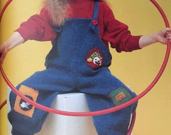 PDF Knit Children Overalls II